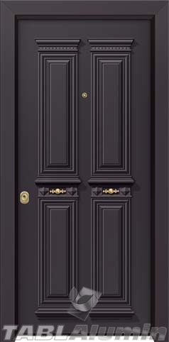 Θωρακισμένη παραδοσιακή πόρτα ΘΠ-730