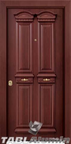Θωρακισμένη παραδοσιακή πόρτα ΘΠ-740
