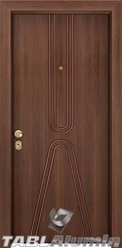 Θωρακισμένη πόρτα με παντογραφικό σχέδιο ΘΠ-221