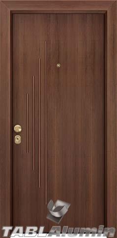 Θωρακισμένη πόρτα με παντογραφικό σχέδιο ΘΠ-229