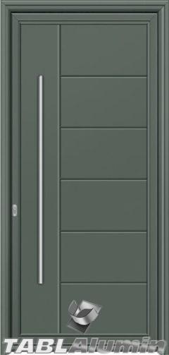 Πόρτα αλουμινίου εξωτερική S-240 - έτοιμη προς τοποθέτηση