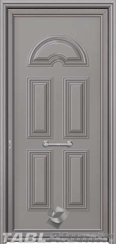 Πόρτα αλουμινίου εξωτερική S-100