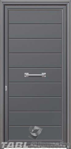 Πόρτα αλουμινίου εξωτερική S-280