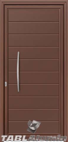 Πόρτα αλουμινίου εξωτερική S-290