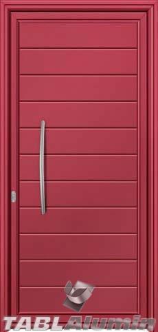 Πόρτα αλουμινίου S-300