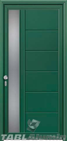 Πόρτα αλουμινίου εξωτερική S-420