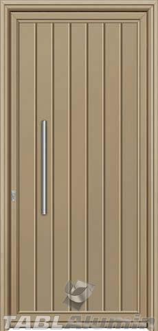 Πόρτα αλουμινίου εξωτερική S-460