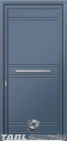 Πόρτα αλουμινίου εξωτερική S-490