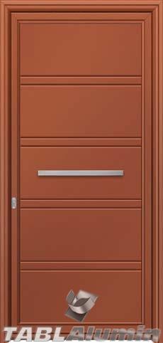 Πόρτα αλουμινίου εξωτερική S-500