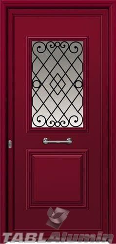 Πόρτα αλουμινίου εξωτερική I-3020-M