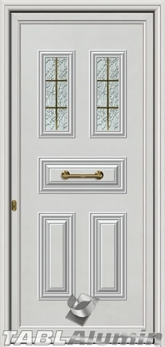 Πόρτα αλουμινίου εξωτερική A-610
