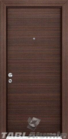 θωρακισμένη πόρτα με επένδυση laminate ΘΠ-125 ECO
