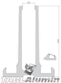 TP-2001 Βάση τζαμιού 144mm