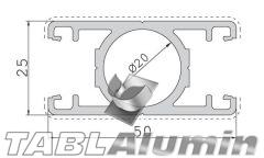 TP-2010 Κολώνα 25x50 (2 έξοδοι)