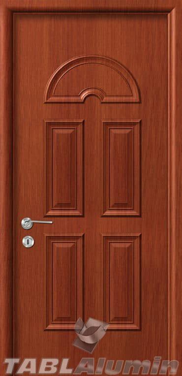 Εσωτερική Πόρτα με Επένδυση Αλουμινίου Ε100