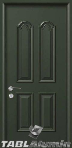 Εσωτερική Πόρτα με Επένδυση Αλουμινίου Ε110