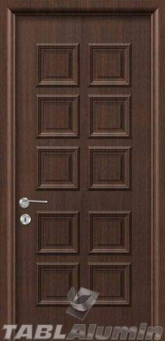 Εσωτερική Πόρτα με Επένδυση Αλουμινίου Ε130