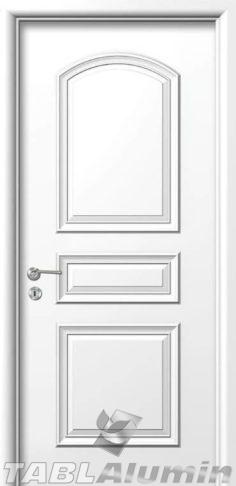 Εσωτερική Πόρτα με Επένδυση Αλουμινίου Ε140