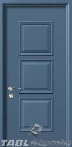 Εσωτερική Πόρτα με Επένδυση Αλουμινίου Ε150