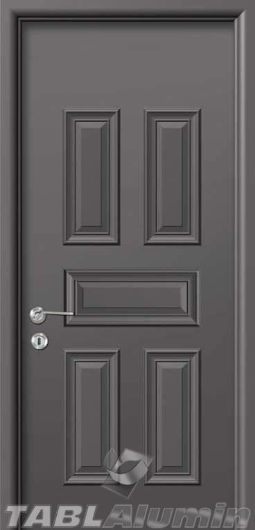 Εσωτερική Πόρτα με Επένδυση Αλουμινίου Ε160