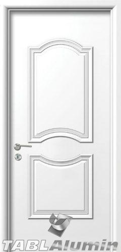 Εσωτερική Πόρτα με Επένδυση Αλουμινίου Ε170