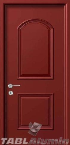 Εσωτερική Πόρτα με Επένδυση Αλουμινίου Ε180
