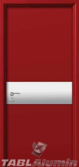 Εσωτερική Πόρτα με Επένδυση Αλουμινίου Ι340