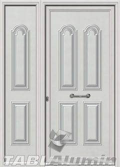 Πόρτα αλουμινίου με πλαϊνό Σ-110