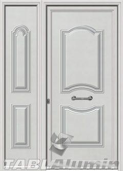 Πόρτα αλουμινίου με πλαϊνό Σ-170