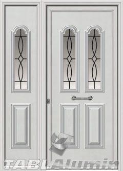 Πόρτα αλουμινίου με πλαϊνό Ι-3000-Μ