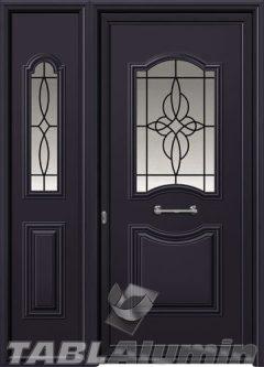 Πόρτα αλουμινίου με πλαϊνό Ι-3110-Μ