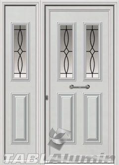 Πόρτα αλουμινίου με πλαϊνό Ι-3130-Μ