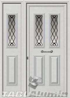 Πόρτα αλουμινίου με πλαϊνό Ι-3140-Μ