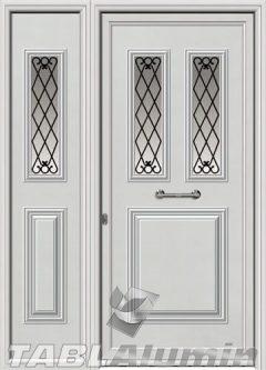 Πόρτα αλουμινίου με πλαϊνό Ι-3170-Μ