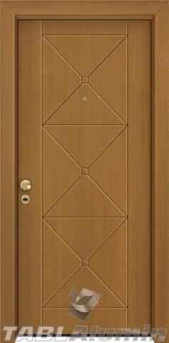 θωρακισμένη πόρτα με παντογραφικό σχέδιο ΘΠ-202