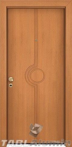 θωρακισμένη πόρτα με παντογραφικό σχέδιο ΘΠ-208