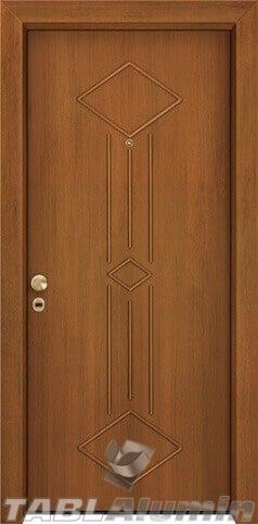 θωρακισμένη πόρτα με παντογραφικό σχέδιο ΘΠ-220
