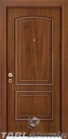 θωρακισμένη πόρτα με παντογραφικό σχέδιο ΘΠ-225
