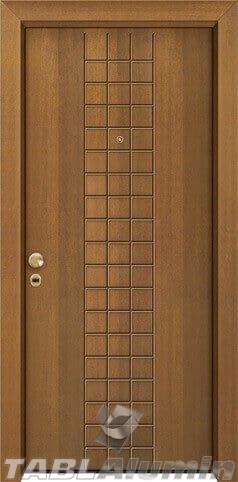 θωρακισμένη πόρτα με παντογραφικό σχέδιο ΘΠ-230