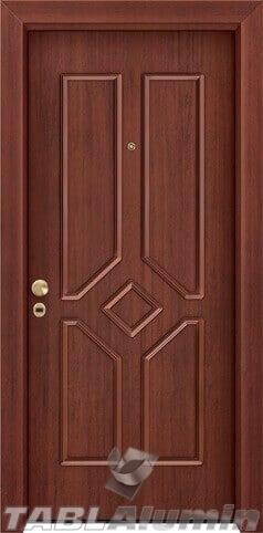 θωρακισμένη πόρτα με παντογραφικό σχέδιο ΘΠ-232