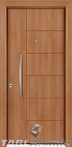 θωρακισμένη πόρτα με επένδυση laminate ΘΠ-127