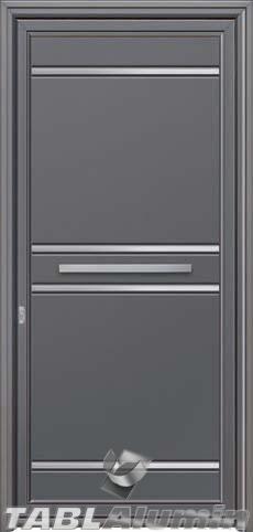 Πόρτα αλουμινίου εξωτερική S-494