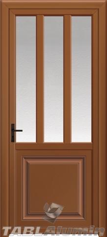Πόρτα κουζίνας αλουμινίου Κ-115