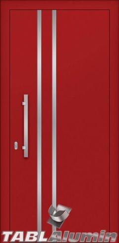 Συνεπίπεδη Πόρτα Αλουμινίου SP-540