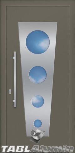 Συνεπίπεδη Πόρτα Αλουμινίου SP-980